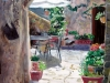 My Courtyard in Castello, Montisi