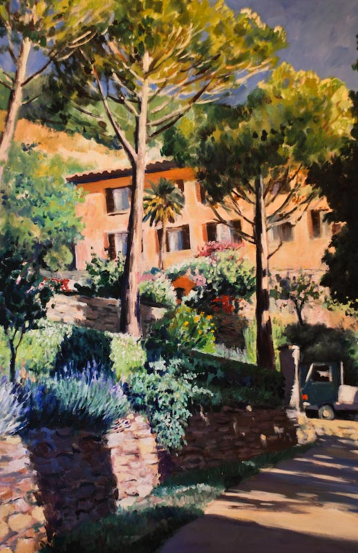 Month Calendar June : Elizabeth cochrane paintings from tuscany montisi
